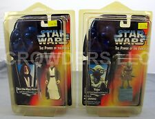 Star Wars Power of the Force Ben (Obi-Wan) Kenobi & Yoda Jedi Trainer Backpack