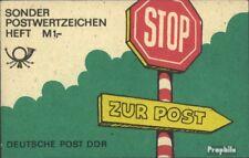 DDR SMHD39gV geänderter Verkaufspreis 3DM postfrisch 1988 Stop - zur Post
