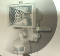 Faretto alogeno 150w con sensore di movimento