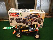 Tamiya 1/10 radio control Super Sabre off road racer Quick drive Box and radio