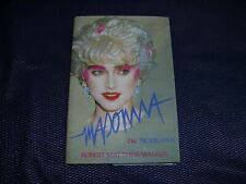 MADONNA: THE BIOGRAPHY Robert Matthew-Walker SIDGWICK & JACKSON 1988 HARDBACK EX