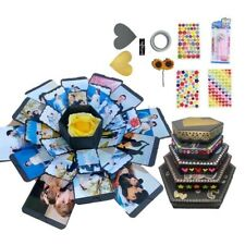 Surprise Explosion gift box Anniversary Scrapbook DIY Photo Album  Love Romantic