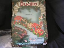 Bucilla HOLIDAY EXPRESS Needle Craft Table Decor Opened Package