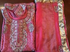 Indian Ethnic Punjabi Bollywood Salwar Kameez Ready To Wear Party Wear- XL