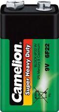 5x Camelion 6f22 zinc-carbón 9v-bloque cloruro e-bloque batería 125864