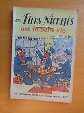 JOURNAL BD PIEDS NICKELES N 11 L FORTON 10-47 IMP FR DECHIRE COUVERTURE PAGE 1