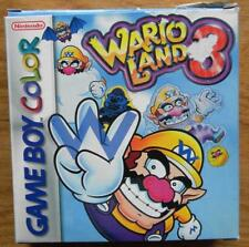 WARIO LAND 3  NINTENDO GAME BOY COLOR