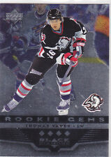 2005 05-06 Black Diamond #197 Thomas Vanek RC rookie gems quad diamond