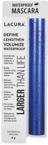 Lacura Mascara Black waterproof Larger Than Life 8 g