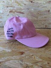 ANTI SOCIAL CLUB ASSC PINK ADJUSTABLE WEIRD CAP OSFA SUPREME