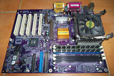 Placa base ECS EliteGroup P4S5A rev 1.5 Pentium IV 1,6 Ghz 2x256 RAM SVGA + LAN