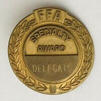FFA National Agricultural Specialty Award Delegate Pin Badge Rare Vintage (A2)