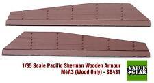 1/35 scale resin model kit Sherman M4A3 Wood Panel Armor Set #1
