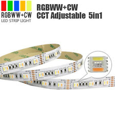 LED Strip Light 5 in 1. RGB Warm & Cool White 24V. 5m roll. Remote Control
