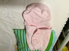 Infant Baby Kiddopotamus SwaddleMe Microfleece Blanket Sleepsack Wrap Pink