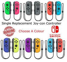 Nintendo Switch Single Left/Right Replacement Joycon Joy Con Controller + Strap