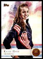 2012 TOPPS OLYMPICS COPPER KATIE HOFF SWIMMING #88 PARALLEL