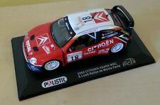 MODELLINO AUTO POLISTIL CITROËN XSARA RALLY MONTECARLO S.LOEB D.ELENA 2003  WRC