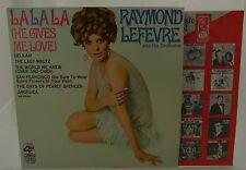 LA LA LA -HE GIVES ME LOVE-Ray Lefevre 4 Corner Vinyl LP Stereo 1968 FCS-4250 EX
