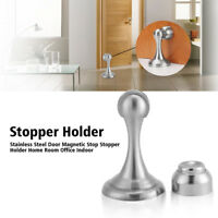 Stainless Steel Magnetic Door Holder Door Stop Catch Heavy Duty Home Office Use