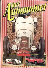 1981 HET AUTOMOBIEL MAGAZIN FANGIO BUGGIES TRACTION AVANT FIAT 18 BL