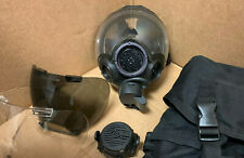 Authentic MSA Millennium CBRN 40mm Gas Mask Size Medium & Accessories Pictured
