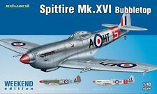 EDUARD MODELS 1/48 Spitfire Mk XVI Bubbletop Fighter (Wkd Edition Plas EDU84141