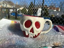 Disney Store Poison Apple Ceramic Mug Snow White SHIPS ASAP
