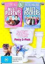 MEET THE PARENTS + MEET THE FOCKERS - BRAND NEW & SEALED 2-DISC DVD (REGION 4)