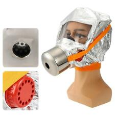 Emergency Escape Hood Oxygen Mask Respirator Fire Smoke Toxic Filter Protect Kit