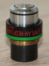 Zeiss Mikroskop Microscope Objektiv Epiplan-Neofluar 16/0,50 Imm (46 15 76)