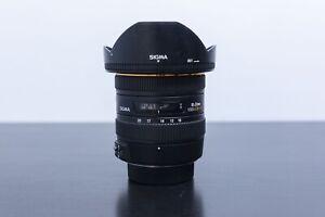 Sigma 10-20mm 3.5 EX Wide Angle Lens for Nikon F mount