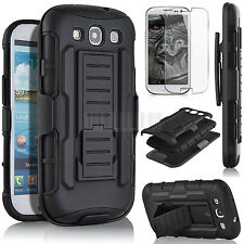 Hybrid Shockproof Rubber Hard Impact Case Cover For Samsung Galaxy S3