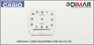 Replacement Vintage Original Sphere / Dial Casio For AQ-222-7B