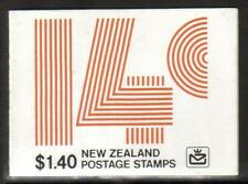 NEW ZEALAND 1980 $1.40 SB33 BOOKLET