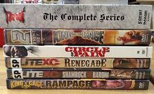 Tap Out Elite XC King of the Cage fighting DVD lot Circle of Pain renegade rampa