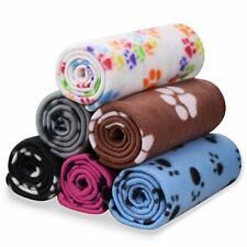 Pet Blanket Dog Cat Soft Fleece Blankets Sleep Mat Pad 6 Pack of 24x28 Inches