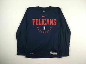 New Orleans Pelicans Nike Long Sleeve Shirt Men's NEW Multiple Sizes
