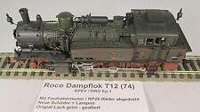 Roco-ho máquina de vapor br t12 S-Bahn de ep.1 kpev + faulhaber ruedas +rp25 + neulack