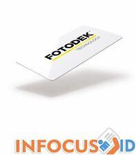 fotodek Blanc 820 MICRO PVC cartes - NXP Mifare 1k Flux PUCE - 500 PACK