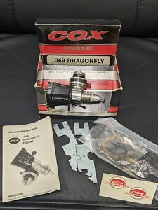 Cox Dragonfly .049 Model Airplane Engine #4505 New In Box!