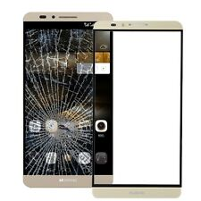 Huawei Ascend Mate 7 Cristal Sustitución pantalla Delantero Set reparación Oro