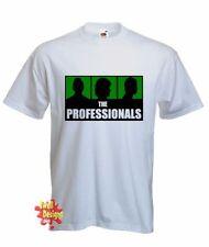 Markenlose Retro Herren-T-Shirts mit Rundhals-Ausschnitt