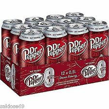 12 Dosen Dr Pepper Energy a 500ml inc. Pfand Mit Taurin inc. 1,50€ Pfand
