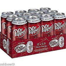 12 Doses Dr Pepper Energy a 500 ML inc. consigne avec la taurine Inc. 1,50 € de consigne