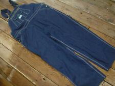 mens Liberty brand bib overalls blue jeans denim size 2XL w 44 X 30 zipfly NEW