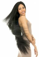 "4X4 FREE PART LACE FRONT WIG 42"" EXTRA LONG MAGIC LACE U-SHAPE HAIR WIG 100"