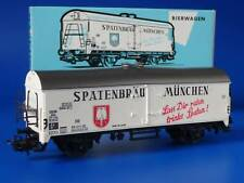 MARKLIN H0 - 4654 - GERMAN BEER WAGON - SPATENBRAEU / BOX - EXC