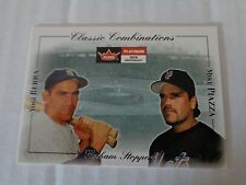 Mike Piazza Yogi BRERA #7cc 2001 FLEER PLATINUM classique combinaisons NM/M Mets