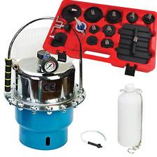 Portable Pneumatic Brake & Clutch Pressure Bleeding Kit Pre Charge & Adaptor Kit